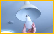 """LED電球交換"""""""