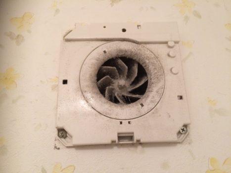 換気扇を解体して様子を確認する方法
