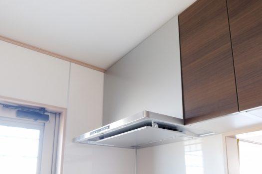 キッチンの換気扇が壊れたときの症状と修理内容