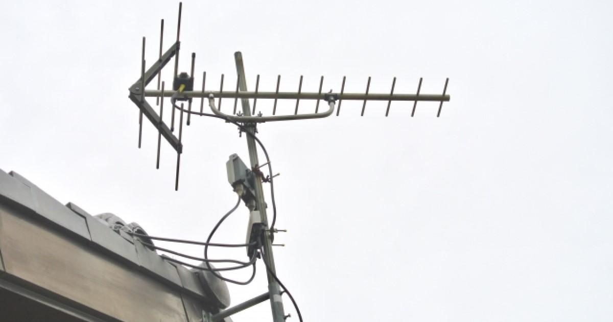 テレビアンテナの設置工事|UHFアンテナ(地デジ)以外の種類も