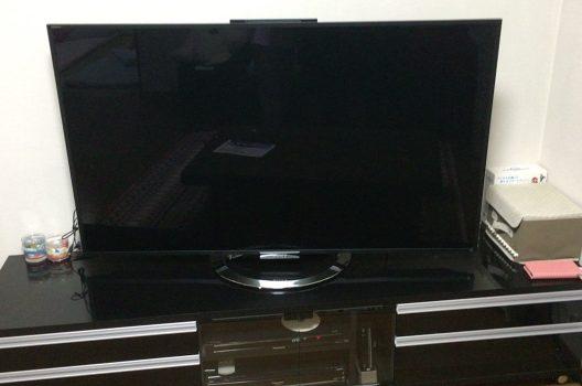 【1】テレビのBS用差し込み口を確認