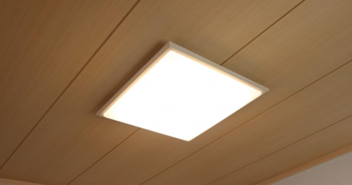 シーリングライトの取り付け!意外と簡単な手順とLED照明について