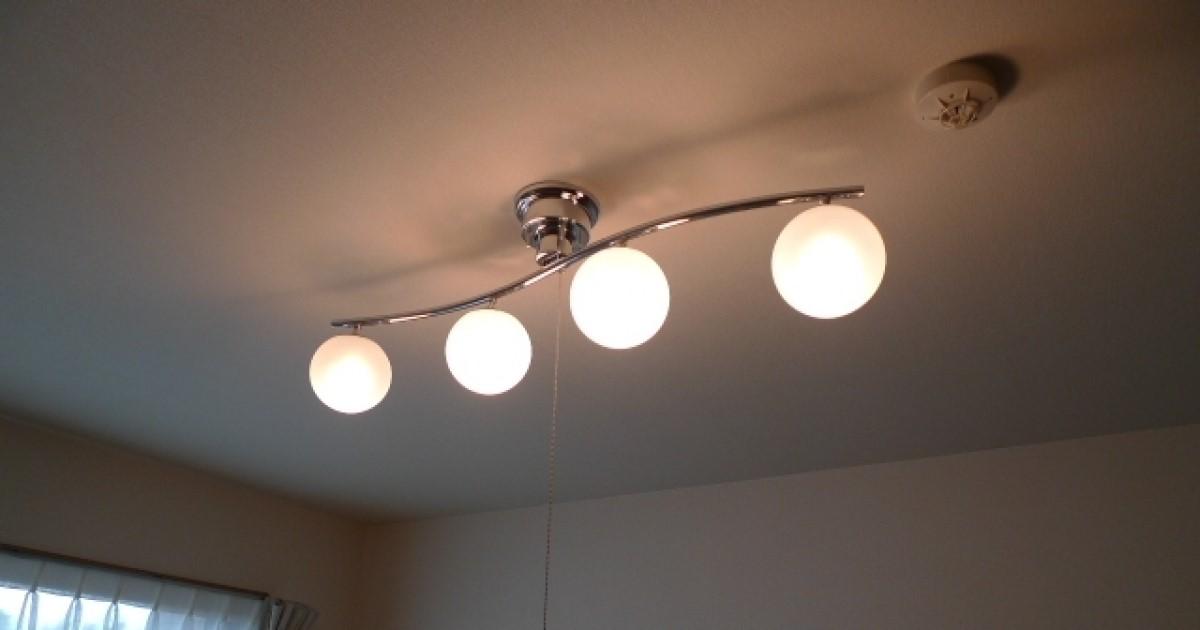 シーリングの取り付けを自分でおこなう方必見|天井照明の工事方法!