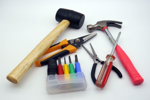 道具の準備