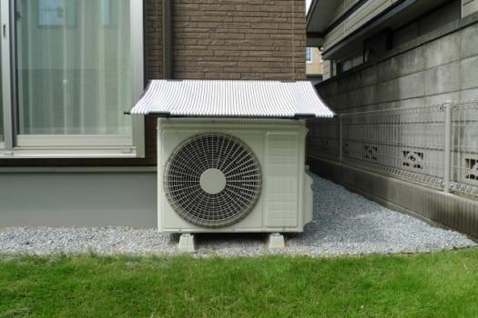 確認1:室外機周りの風通しをよくする