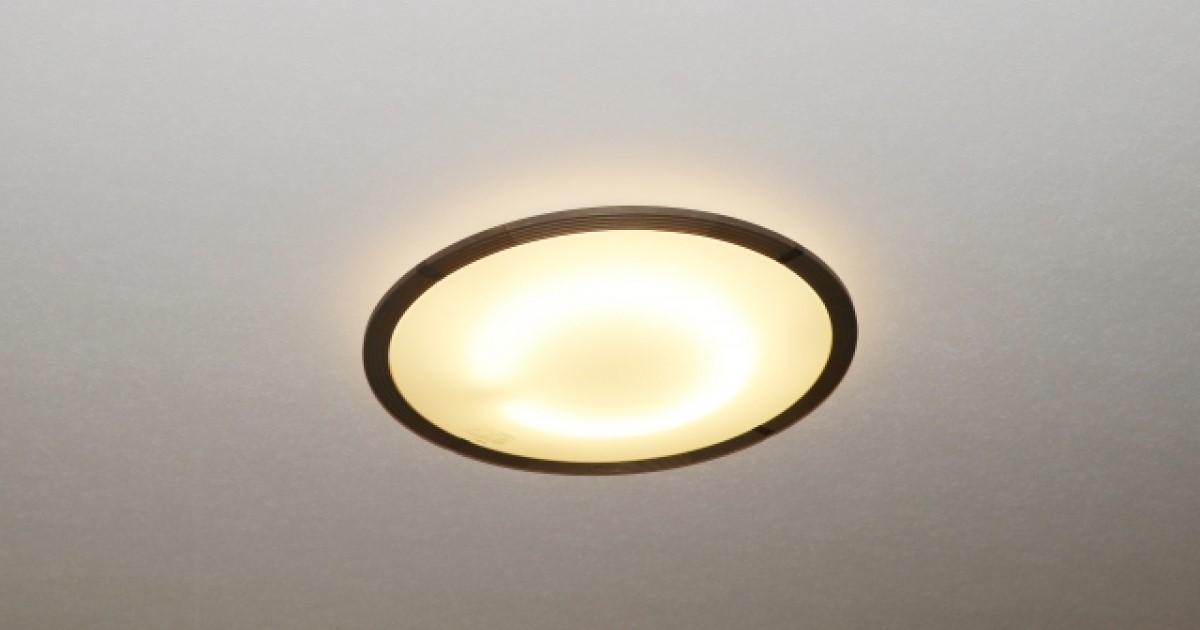 シーリングライトとは・部屋に合う照明の選び方・LEDへの交換手順